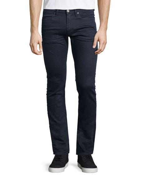 Acne Studios Max Blue Speed Slim-Fit Denim Jeans, Dark Blue