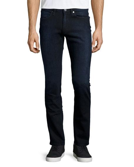 Acne Studios Max Groza Skinny Jeans, Black/Blue