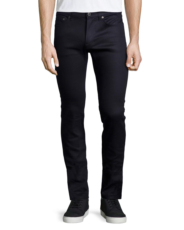 0ec689905940 Acne Studios Ace Cash Slim Jeans, Black   Neiman Marcus