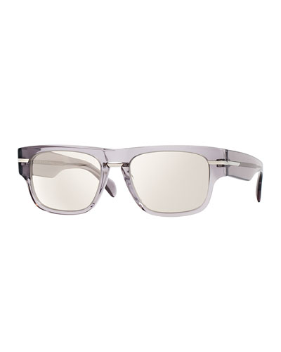 Public School 55 Acetate Sunglasses, Silver