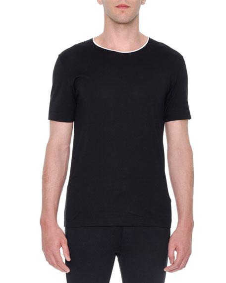 Dolce & Gabbana Short-Sleeve Crewneck T-Shirt, Black