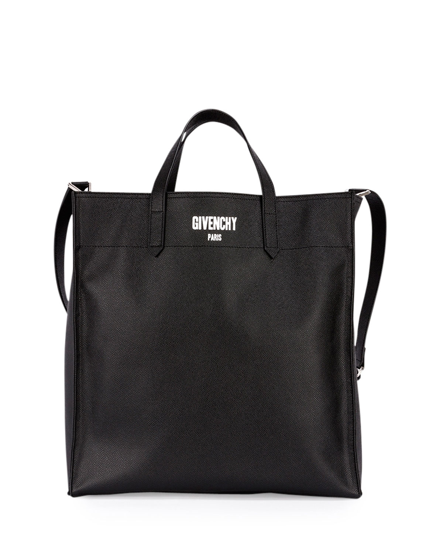 5a4995e10bde Givenchy Men s Logo Print Leather Tote Bag