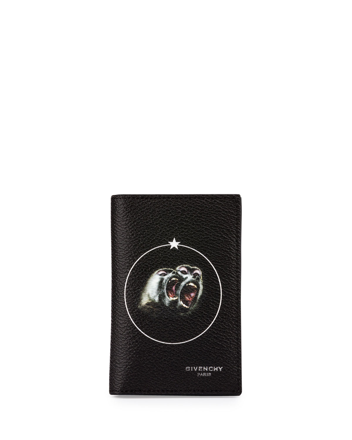 908f6378ab91 Givenchy Monkey Brothers Card Case, Black | Neiman Marcus