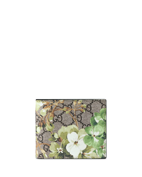 Gucci GG Blooms Canvas Bi-Fold Wallet, Multi