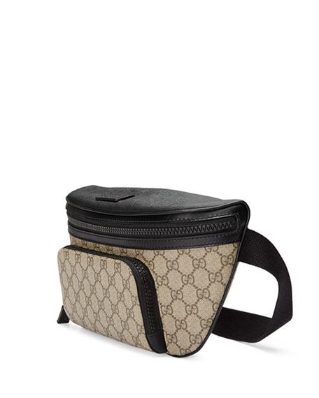 Gucci Eden GG Supreme Belt Bag, Beige