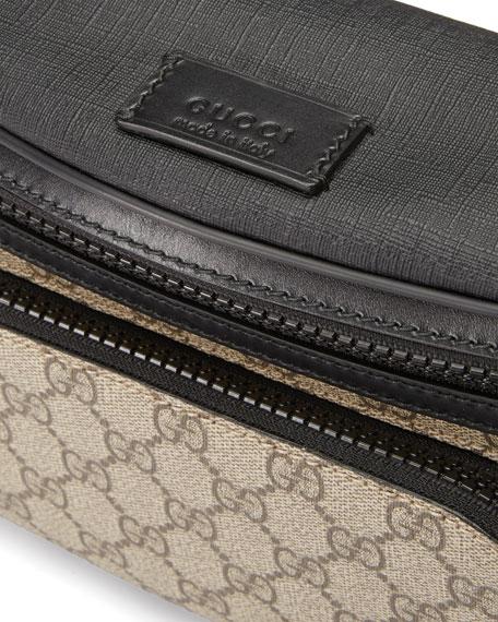 Eden GG Supreme Belt Bag, Beige