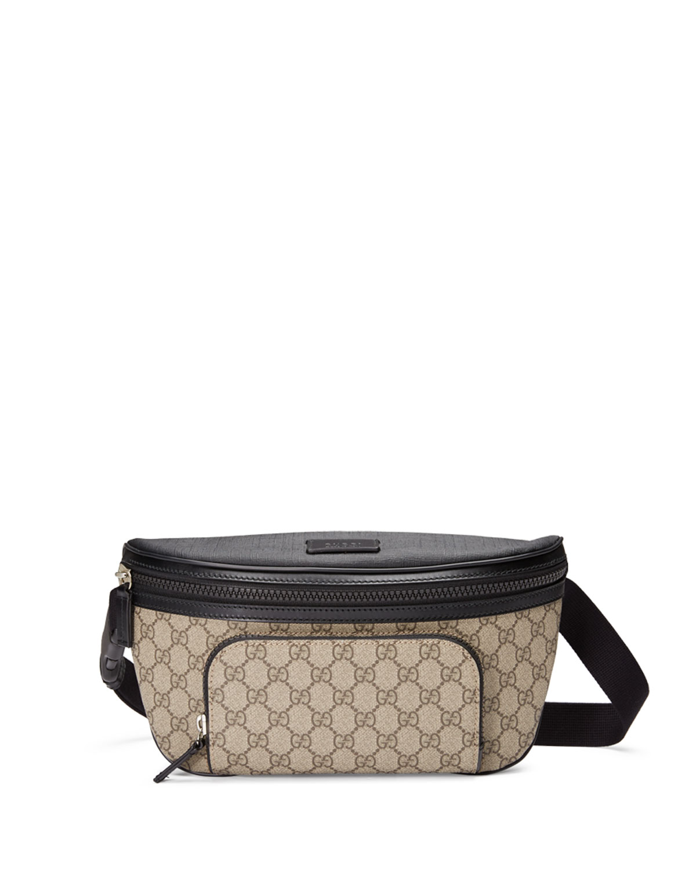 3a99c01833f7 Gucci Eden GG Supreme Belt Bag, Beige | Neiman Marcus