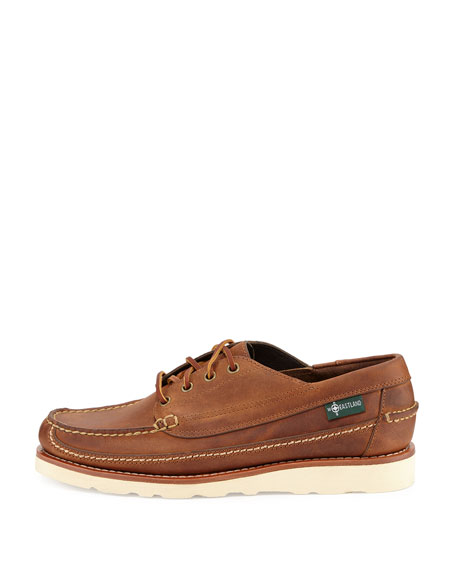 Stoneham 1955 Leather Oxford, Oak