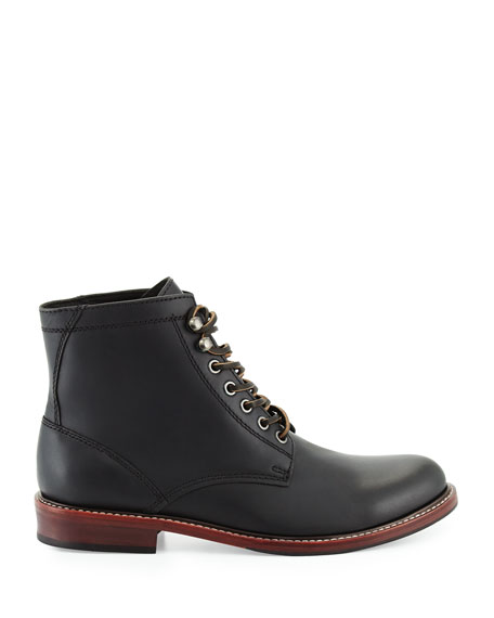 Elkton 1955 Leather Boots, Black
