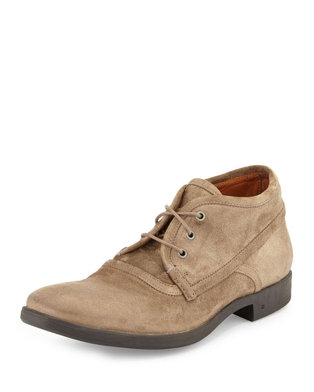 John Varvatos Dylan Bound Suede Chukka Boot, Brown
