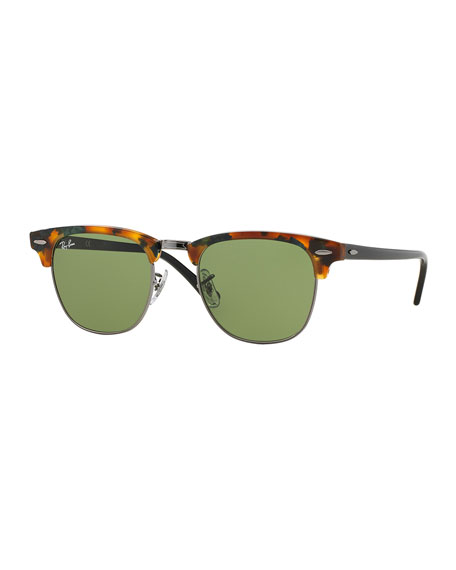 Ray-Ban Clubmaster Sunglasses, Havana Brown