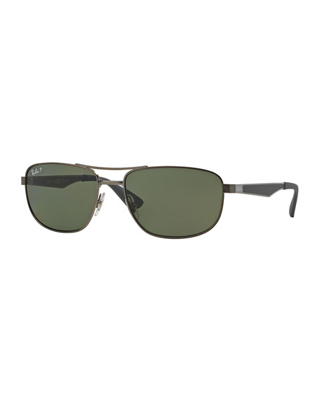 Ray-Ban Aviator Sunglasses, Gunmetal