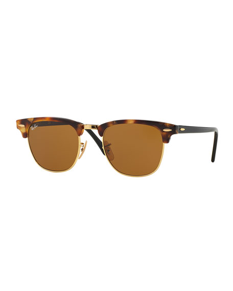 Ray-BanClubmaster Havana Sunglasses, Brown