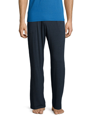 Jersey-Knit Lounge Pants, Charcoal
