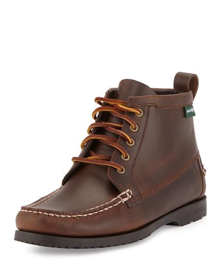 Dylan 1955 Leather Boot, Oak
