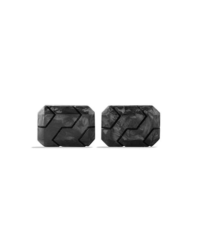 Forged Carbon Fiber Cuff Links