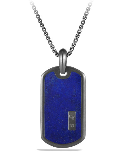 Small Tag with Blue Lapis