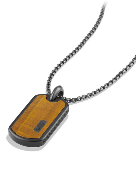 Small Tag with Tiger's Eye