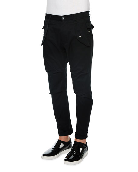 Dickies Flex Slim Fit Straight Leg Cargo Pant - Quality Mens Pants. oz. mechanical stretch twill, 65% polyester/35% cotton. This moisture-wicking cargo pant sits below the waist and has a slim fit through the seat and thigh with a straight leg.