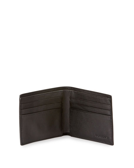 Smoke Check Hip-Fold Wallet, Chocolate/Black