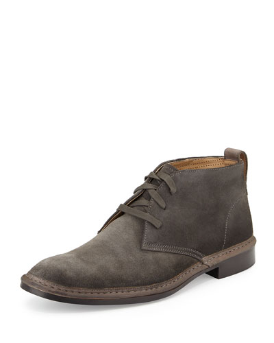 Sid Suede Chukka Boot, Dark Gray