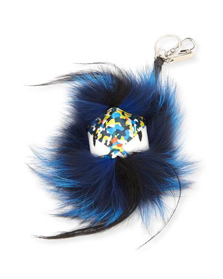 Fendi Fur Confetti Men's Charm for Bag/Briefcase