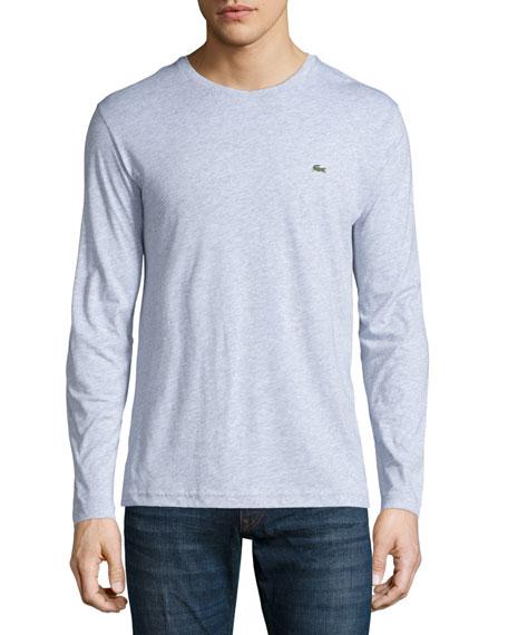 Lacoste Three-Piece Crewneck Long-Sleeve T-Shirt Set, Multi