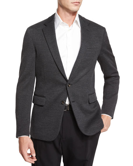 Ralph Lauren Black Label Daniel Two-Button Sweater Jacket,