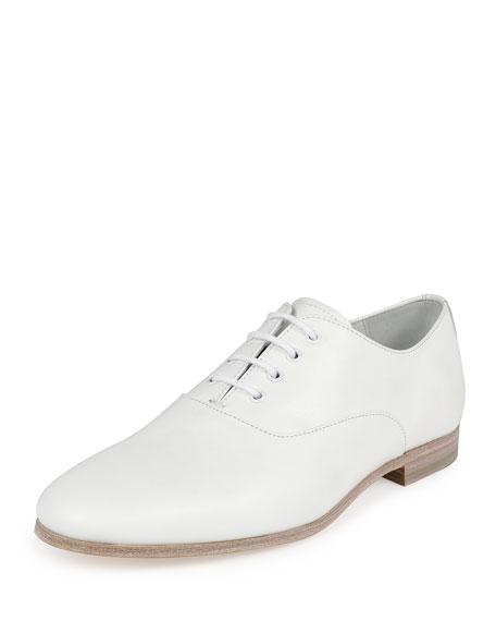 Alexander McQueen Runway Lace-Up Shoe, White