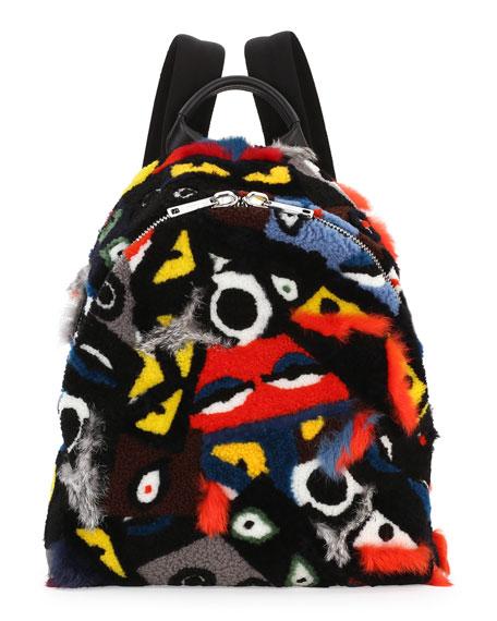 Fendi Backpack Fur