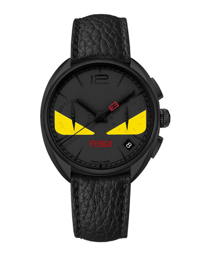 Fendi Timepieces 40mm Men's Monster Eyes Chronograph Watch,