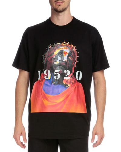 Shroud of Turin Graphic Short-Sleeve T-Shirt, Black