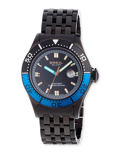 Manta 1970 Watch, Blue/Black