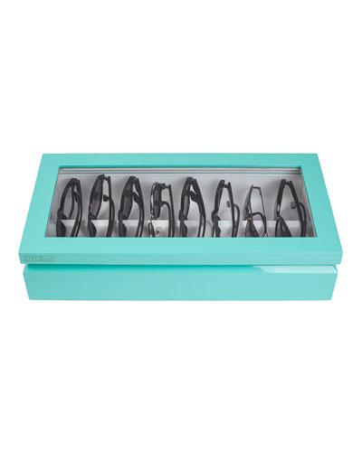 Eyewear Organizer Case, Aqua