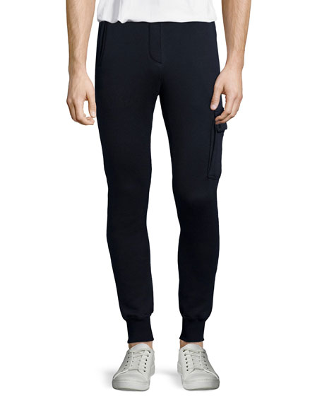 ATM Anthony Thomas Melillo Terry Pull-On Sweatpants, Navy