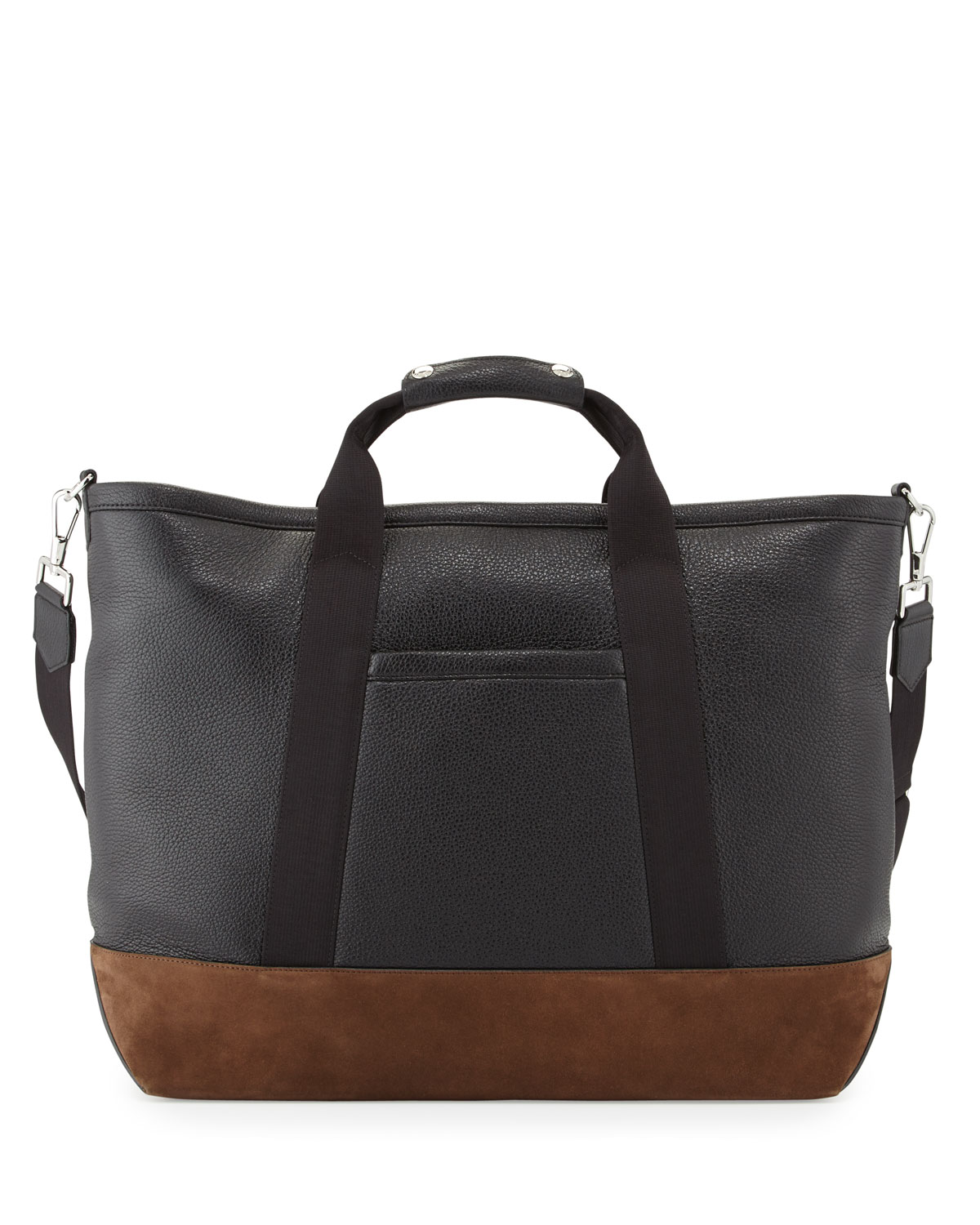 efc40ddb78c8 TOM FORD Men s Two-Tone Leather Weekender Bag
