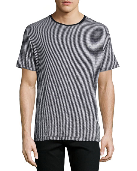 Rag & Bone Rupert Striped Short-Sleeve T-Shirt, Light