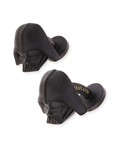 3D Darth Vader Cuff Links