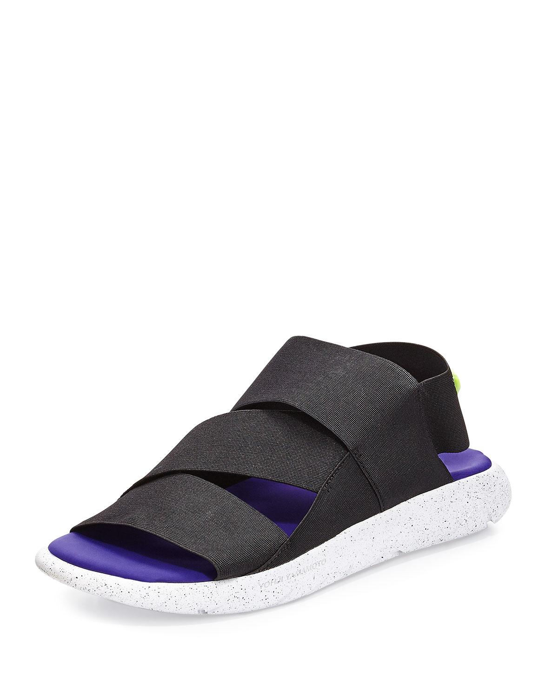 9424c6454 Y-3 Qasa Strappy Slide-On Sandal