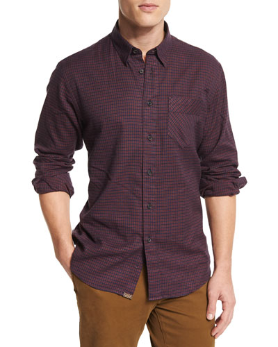 Walland Printed Long-Sleeve Sport Shirt, Multi