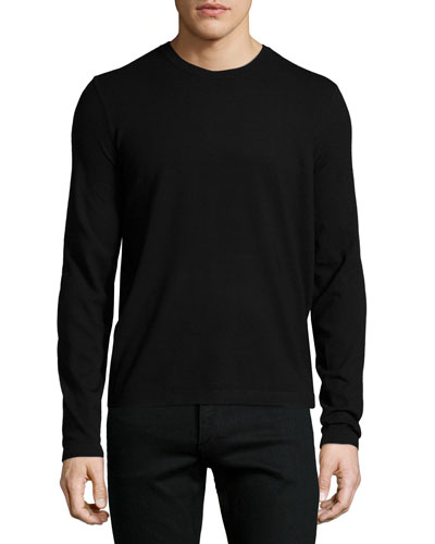 Brettos Bilen Crewneck Sweater, Black