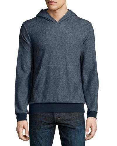 Danen Replika Melange Hooded Sweatshirt, Navy