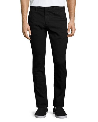 The Slacker Varnish Trouser Jeans, Black