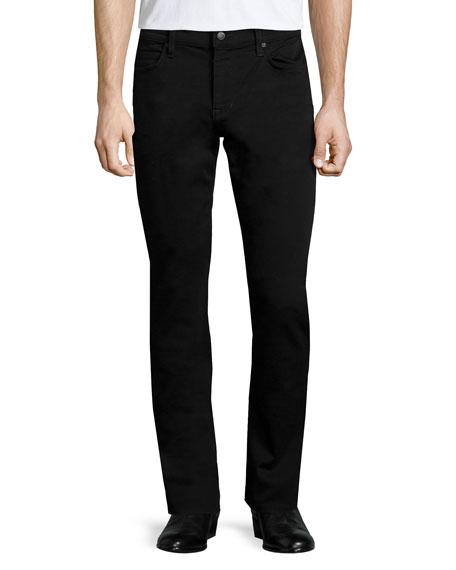Joe's Jeans Slim-Fit Enok Tonal Denim Jeans, Black