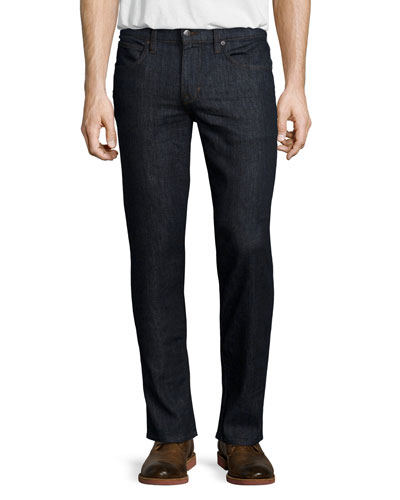 Classic Lynn Dark Denim Jeans, Dark Blue