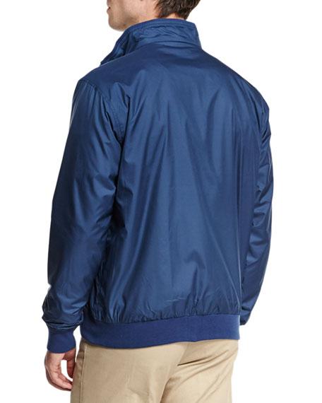 Peter millar austin zip up jacket geometric print long for Same day t shirt printing austin