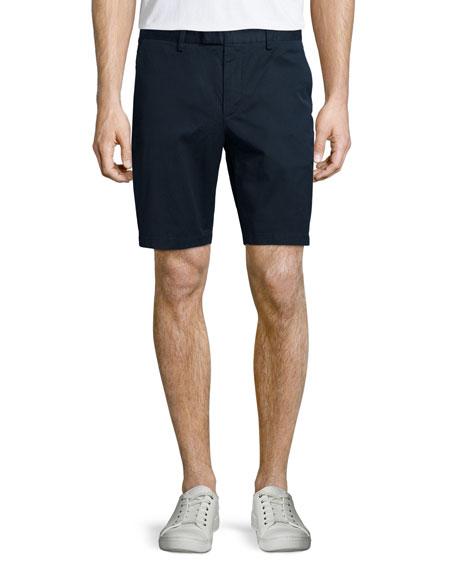 Michael Kors Stretch-Twill Shorts, Navy