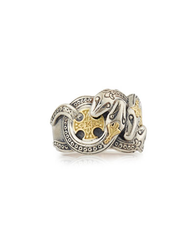 Men's Minos Serpent Ring, Size 10