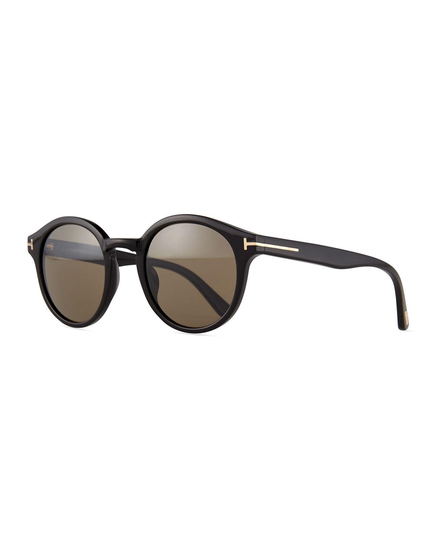 e7176013149 TOM FORD Lucho Round Sunglasses
