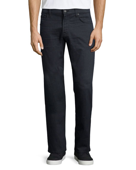 7 For All Mankind Luxe Performance: Carson Equinox Denim Jeans, Dark Gray ...